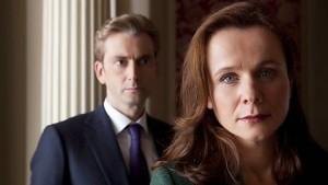 Emily Watson in The Politician's Husband TV series on Netflix