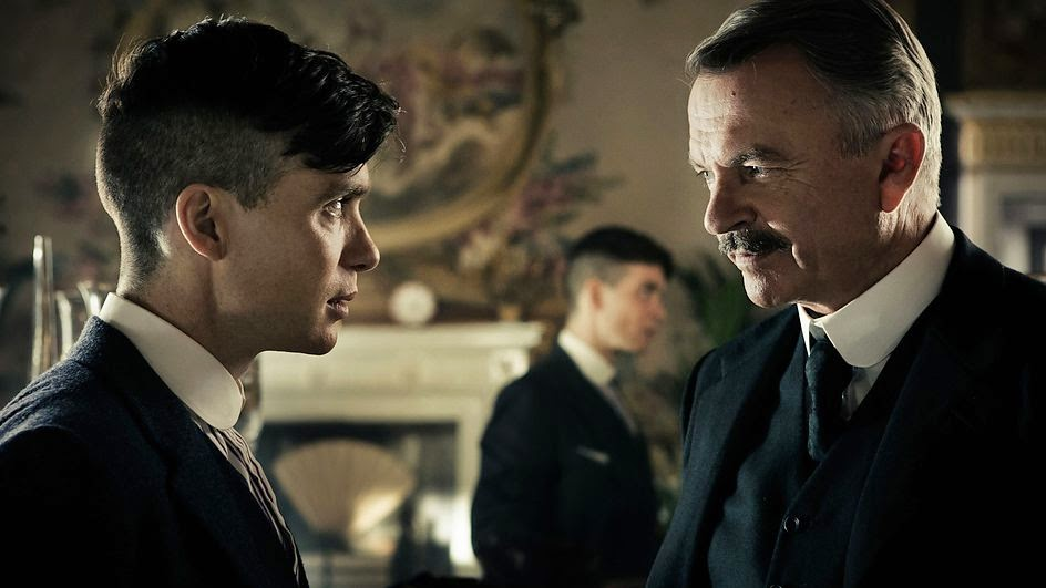 "Cillian Murphy as Tommy Shelby in ""Peaky Blinders"""