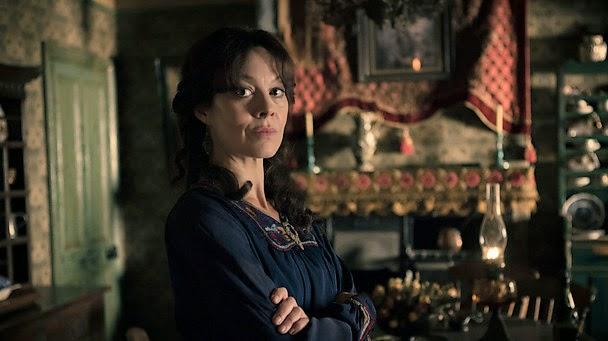 Helen McCrory as Aunt Polly