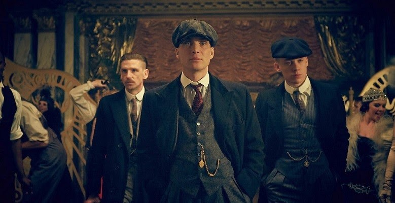 Tommy Shelby and his brothers in Peaky Blinders season 2