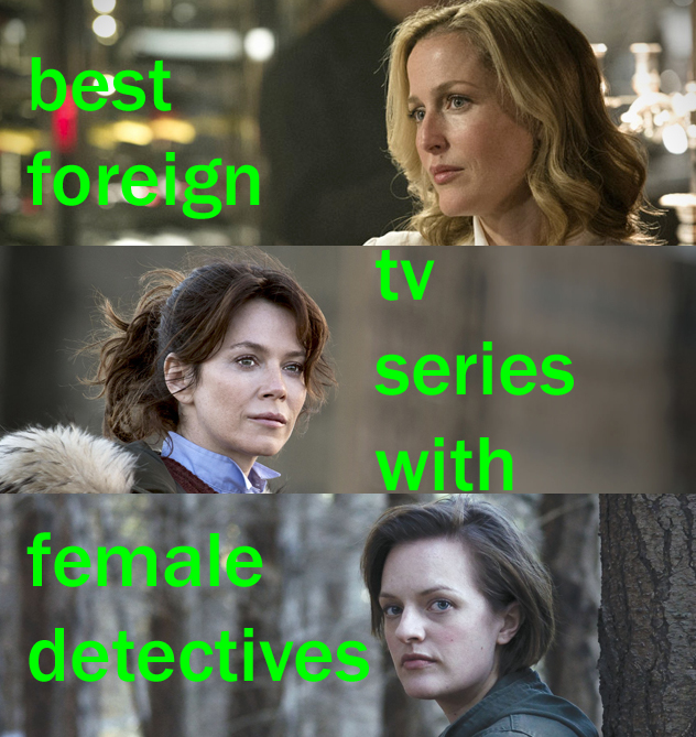 best female cop series foreign tv