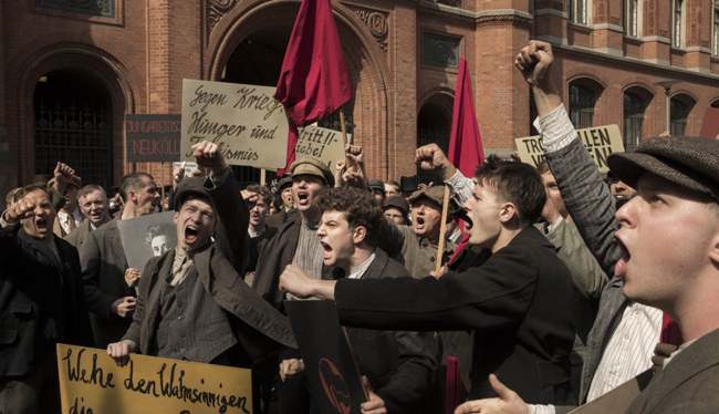 Socialists in Babylon Berlin TV series on Netflix